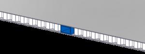 Honeycomb composite panel inserts