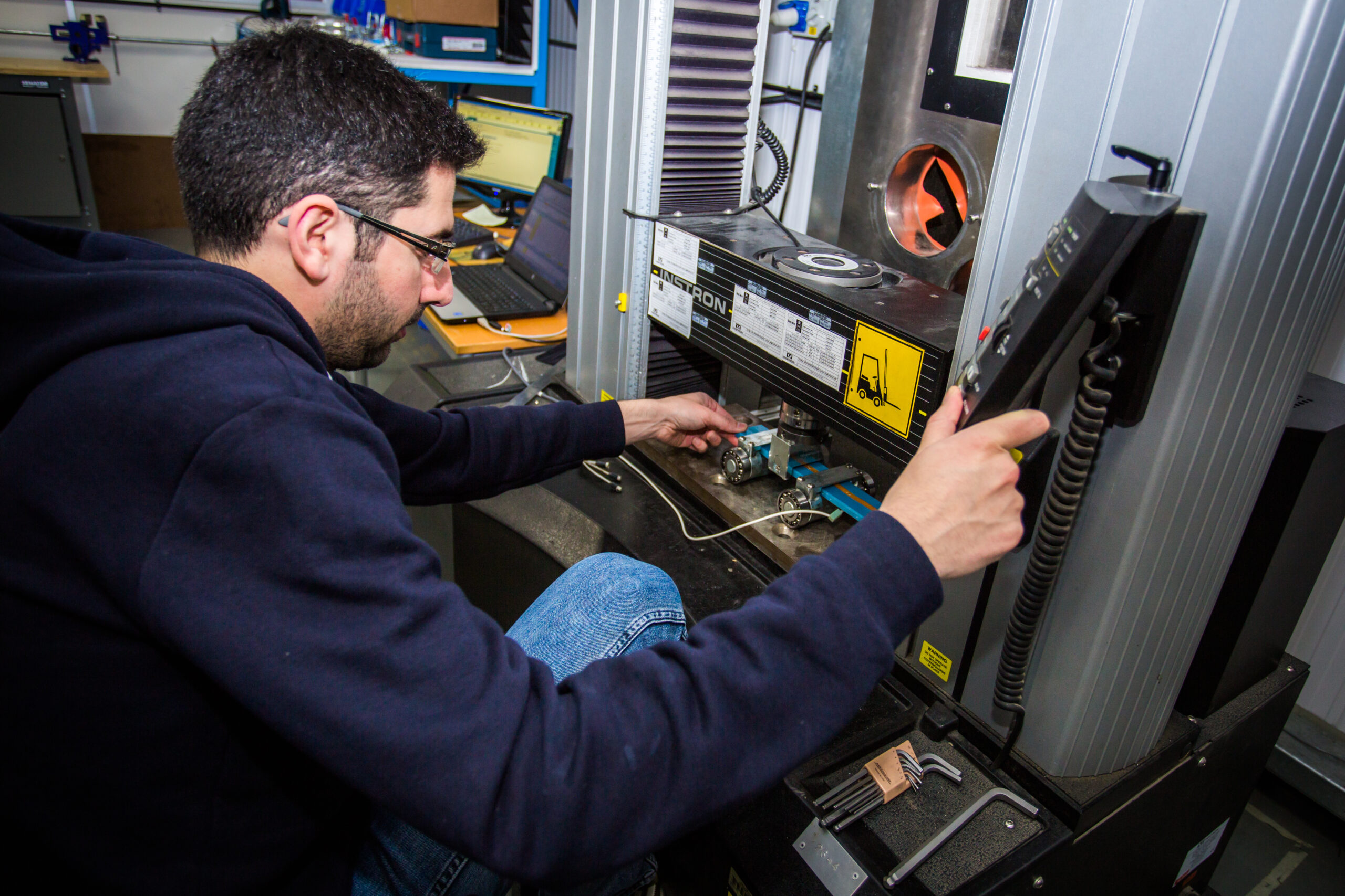 Testing Facilities with Test Equipment at BCP