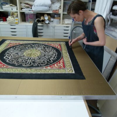 Conservation mounting - Zenzie Tinker Conservation